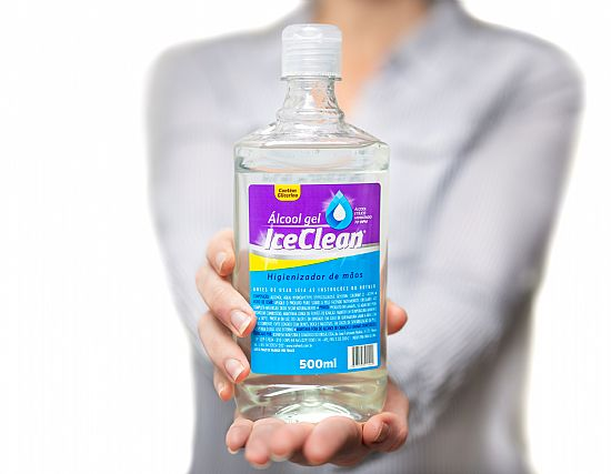 Packaging - Álcool Gel - IceFresh®